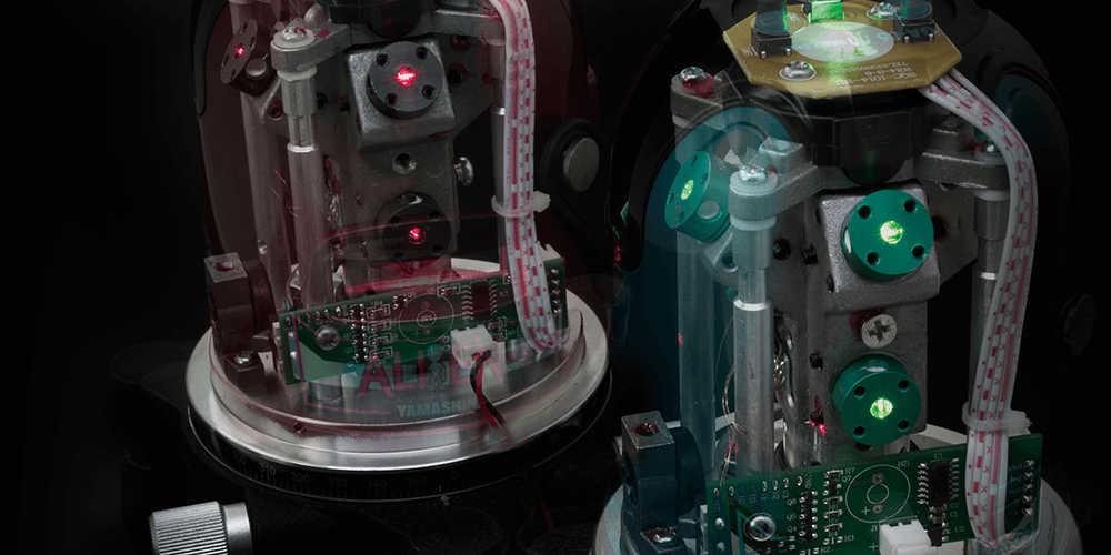 画像:レーザー墨出し器