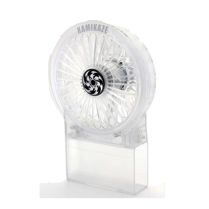 神風ケーブルレス一体式ファンLEDファンDF-LED-CRSスケルトン