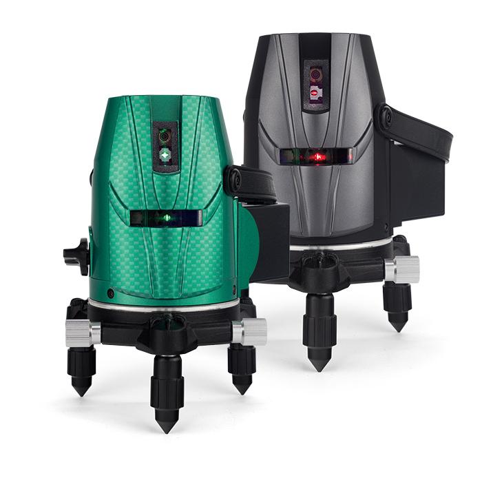 レーザー墨出し器 スーパーナビ自動誘導レーザー